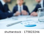 image of business document and... | Shutterstock . vector #175823246
