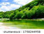 Beautiful landscape of Houghton Regis Quarry