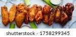 Line Of Buffalo Chicken Wings...