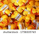 tiny tiger amulet or charm sold ... | Shutterstock . vector #1758335765