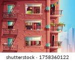 vector cartoon style of... | Shutterstock .eps vector #1758360122
