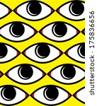 Abstract Eye Background Vector...