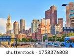 boston  ma  usa   june 07  2020 ...   Shutterstock . vector #1758376808