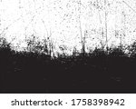abstract grunge black and white ... | Shutterstock .eps vector #1758398942