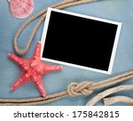 Blank Photo Frame With...