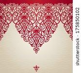 vector seamless border in... | Shutterstock .eps vector #175850102