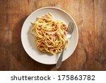 Dish Of Spaghetti A La...