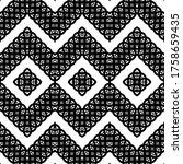 design seamless monochrome... | Shutterstock .eps vector #1758659435