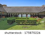 The Monastery Cloister In The...