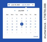 popup date picker components ui ...