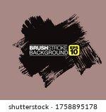 vector brushstroke background ... | Shutterstock .eps vector #1758895178
