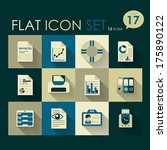 office   business icon set...