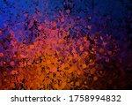 dark blue  red vector backdrop... | Shutterstock .eps vector #1758994832