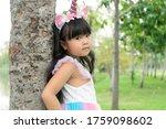 asian portrait little girl...   Shutterstock . vector #1759098602