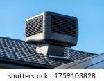 Evaporative Cooler Installed On ...