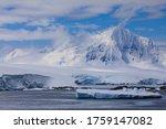 Focus On A Tidewater Glacier...