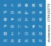 editable 36 africa icons for... | Shutterstock .eps vector #1759153775