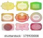 retro  label can be used for... | Shutterstock .eps vector #175920008