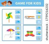 educational worksheet for... | Shutterstock .eps vector #1759216232