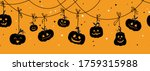 fun hand drawn halloween... | Shutterstock .eps vector #1759315988