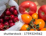 juicy red berries tomatoes and... | Shutterstock . vector #1759324562