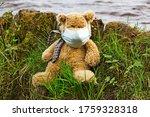 Teddy Bear In A Medical Mask O...
