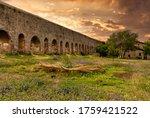 Ancient Roman Aqueduct  Roman...