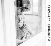 mother and daughter looking... | Shutterstock . vector #175942658