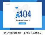 illustration design concept 404 ...   Shutterstock .eps vector #1759432562