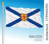 nova scotia territory official... | Shutterstock .eps vector #1759444292