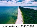 Chalupy Beach Aerial View. Hel...