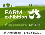 design for farming exhibition.... | Shutterstock .eps vector #1759516322