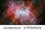Hubble Views Galaxy And Nebula. ...