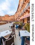Restaurants In The Piazza Del...