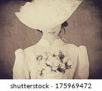 Beautiful Women With Bouquet....