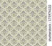 ornamental seamless pattern.... | Shutterstock .eps vector #175976132