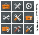 tool icons | Shutterstock .eps vector #175979708