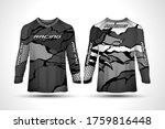 Long Sleeve Sport Jersey Design