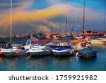 Old Port Of Constanta With...