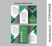 geometric trifold medical...   Shutterstock .eps vector #1759940408