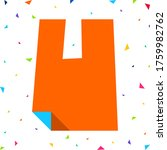 colored kids font  multi...   Shutterstock .eps vector #1759982762