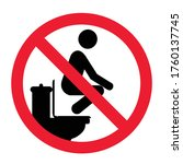 Attention Sit On Toilet Seat...