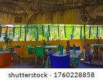 guadeloupe traditional colorful ... | Shutterstock . vector #1760228858
