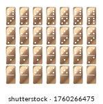domino game. domino game.... | Shutterstock .eps vector #1760266475