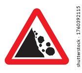 Falling Rocks Or Debris Warning ...