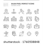 simple set of icons related to... | Shutterstock .eps vector #1760508848