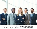 group of business partners... | Shutterstock . vector #176050982
