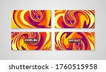 colorful swirling painting...   Shutterstock .eps vector #1760515958