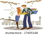 autumn story | Shutterstock .eps vector #17605168