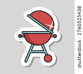 grill barbeque cookout vector...